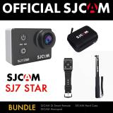 Retail Price Sjcam Sj7 Star Black Bundle