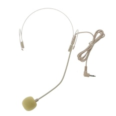Skin Color Headset Invisible Microphone For Stage Loudspeakers Amplifier Tv - Intl By Crystalawaking.
