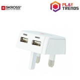 Where To Shop For Skross Original Uk Dual Usb Charger Plug 1302700