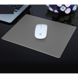 Latest Slim Anti Slip Aluminium Alloy Mouse Pad Mat Size 24 X 17 Cm Grey Intl