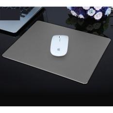 Sale Slim Anti Slip Aluminium Alloy Mouse Pad Mat Size 24 X 17 Cm Grey Intl Online On China