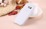 The Cheapest Slim Luxury Shockproof Full Body Flip Cover Clear Gel Tpu Case For Samsung Galaxy S6 Edge Clear Intl Online