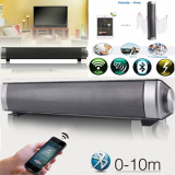 Slim Magnetic Wireless Soundbar Lp 08 Hifi Box Bluetooth Subwoofer Speaker Boombox Stereo Portable Hands Free Speaker For Tv Pc Black Intl Sale