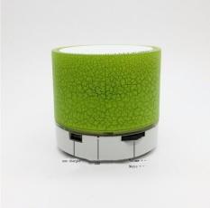 Small Cracked Bluetooth speaker - Blue - intl