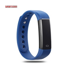 Promo Smart Bracelet Fitness Tracker Step Counter Fitness Band Alarm Clock Vibration Wristband For Iphone Android Pk I6 Pro Intl