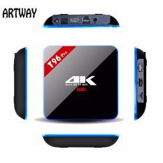 How Do I Get Smart Tv Box T96Pro 3Gb 16Gb Android 6 Tv Box Amlogic S912 Octa Core Cortex A53 64 Bit Bt4 1 Android Tv Box