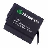 Best Deal Smatree® 1220 Mah Battery For Gopro Hero 2018 Hero 6 Hero 5 Black