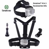 Smatree® 4 In 1 Accessory Kits For Gopro Hero 1 2 3 3 4 5 Silver Black Session Sjcam Sj4000 Sj5000 Xiaomi Xiaoyi Yi 4K Action Camera Coupon Code