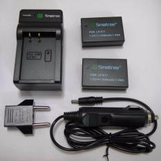 Purchase Smatree Battery 1040Mah 2 Pack With Battery Car Charger For Canon Lp E17 Not Fully Decoded Online