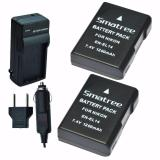 Buy Smatree Replacement Battery 2 Pack Ac Wall Charger For Nikon En El14