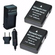 Low Price Smatree Replacement Battery 2 Pack Ac Wall Charger For Nikon En El14