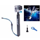 Great Deal Smatree Smapole F1 For Gopro And Action Cam Blue Gold