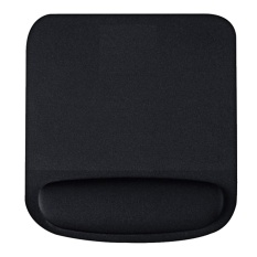 Soft Mouse Pad with Wrist Rest Support Pad Non-Slip Comfortable Mouse Mat for Surfing and Gaming Black - intl