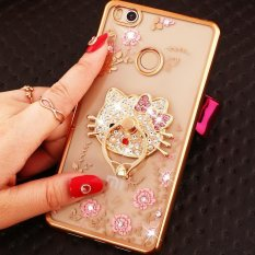 Soft Phonecase Fashion Phone Case Cover Casing For Xiaomi Mi MIX With Ring Holder - intl