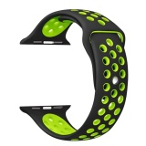 Buy Soft Silicone Sport Band Replacement Wrist Strap For I Watch Series 1 Series 2 38Mm Intl On China