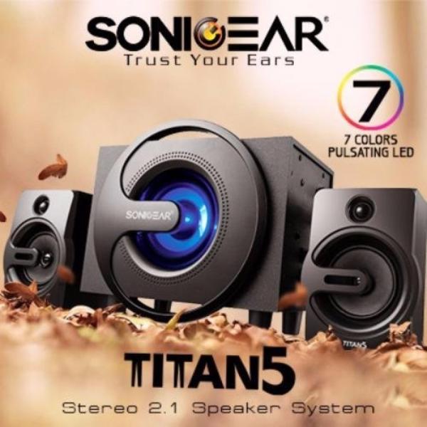 Sonic Gear Titan 5 Bluetooth Subwoofer Singapore