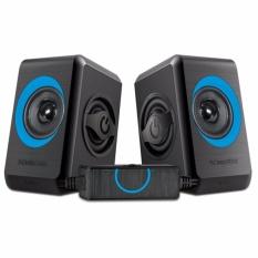Price Sonicgear 2 Speaker Quatro 2 Blue Sonic Gear New