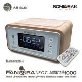 Sale Sonicgear Pandora Neo Classic № 1000 Bluetooth Fm Radio Clock Alarm Sonic Gear Online