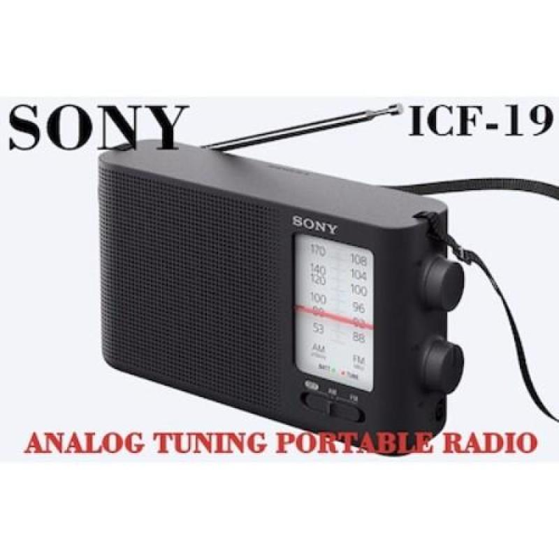 Sony Analog Tuning Portable Radio Icf-19 Singapore