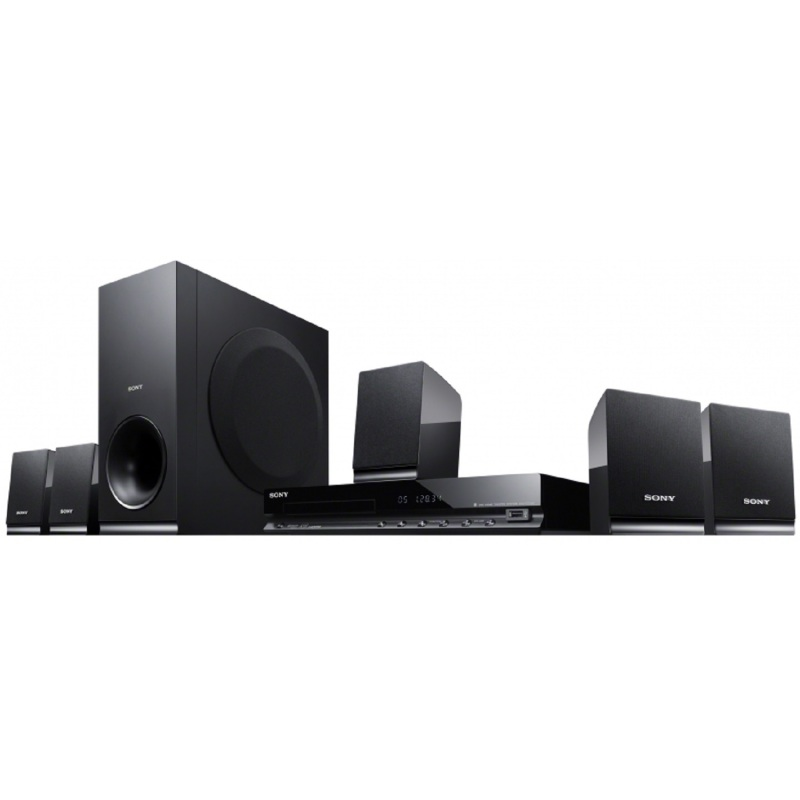 SONY DAV-TZ140 DVD Home Theater System / 5.1ch surround sound / USB port / Dolby® True HD Singapore