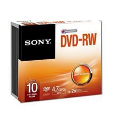 Sony DVD-RW 10PCS With Slim Case