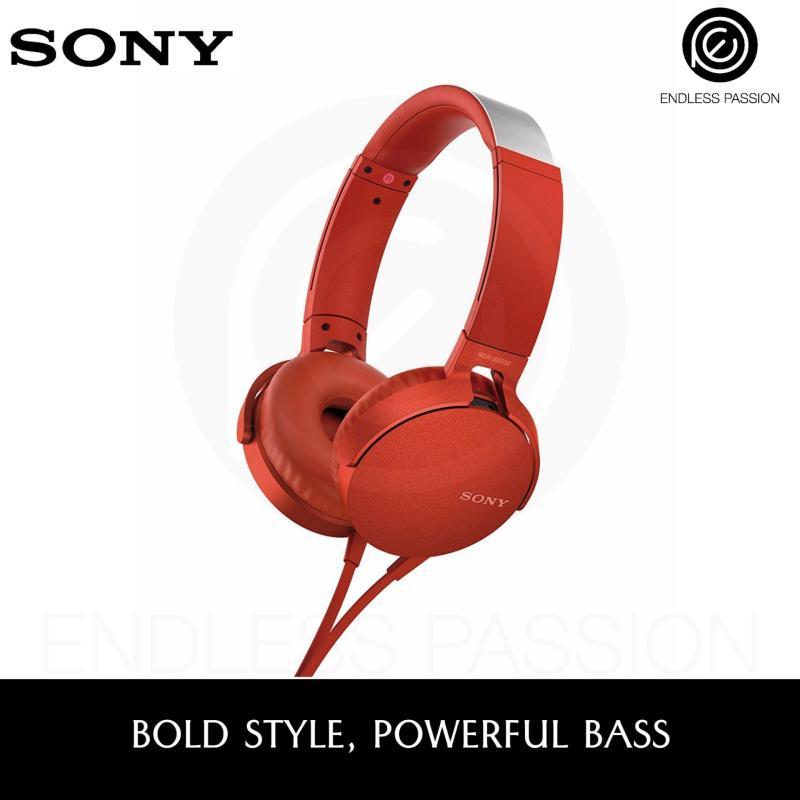 SONY EXTRA BASS™ Headphones - MDR-XB550AP Singapore
