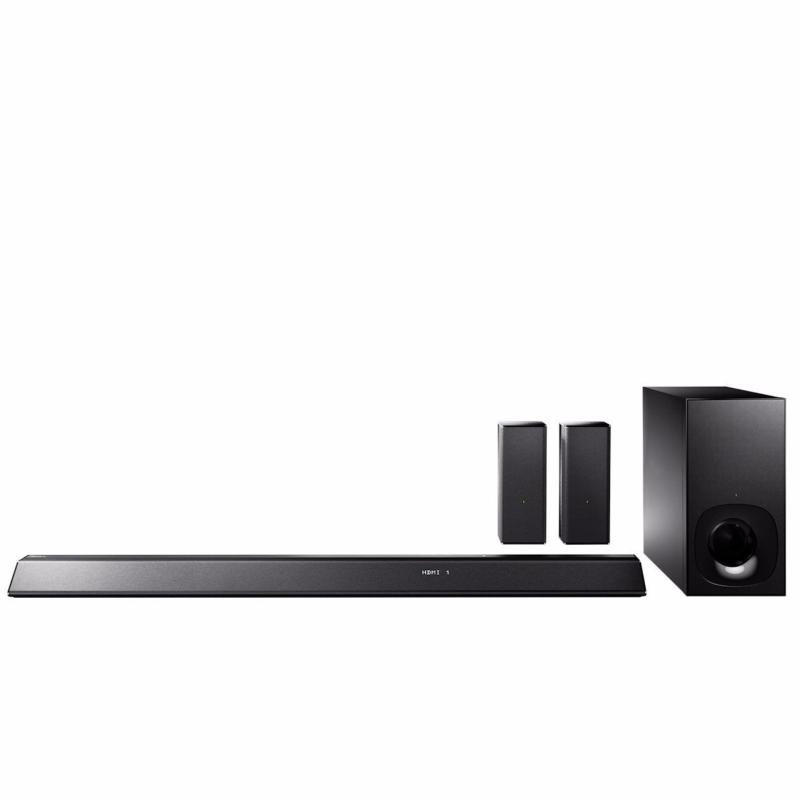 Sony HT-RT5 Soundbar with 2 Wireless Rear Speakers (550 W, S-Master HX, Clear Audio Plus, Dolby TrueHD, DTS-HD, Bluetooth, Wi-Fi and NFC) Singapore