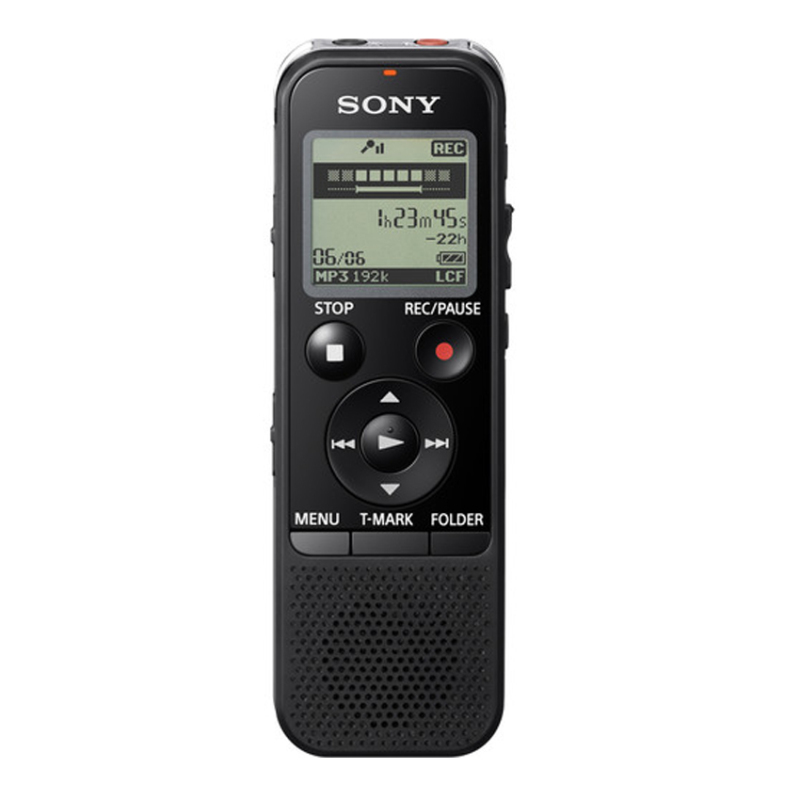 Sony ICD-PX440 MP3 Digital Voice IC Recorder - Black (EXPORT) Singapore