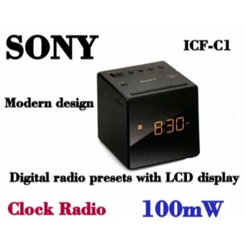 Sony Icf-C1 Clock Radio (Black) Singapore