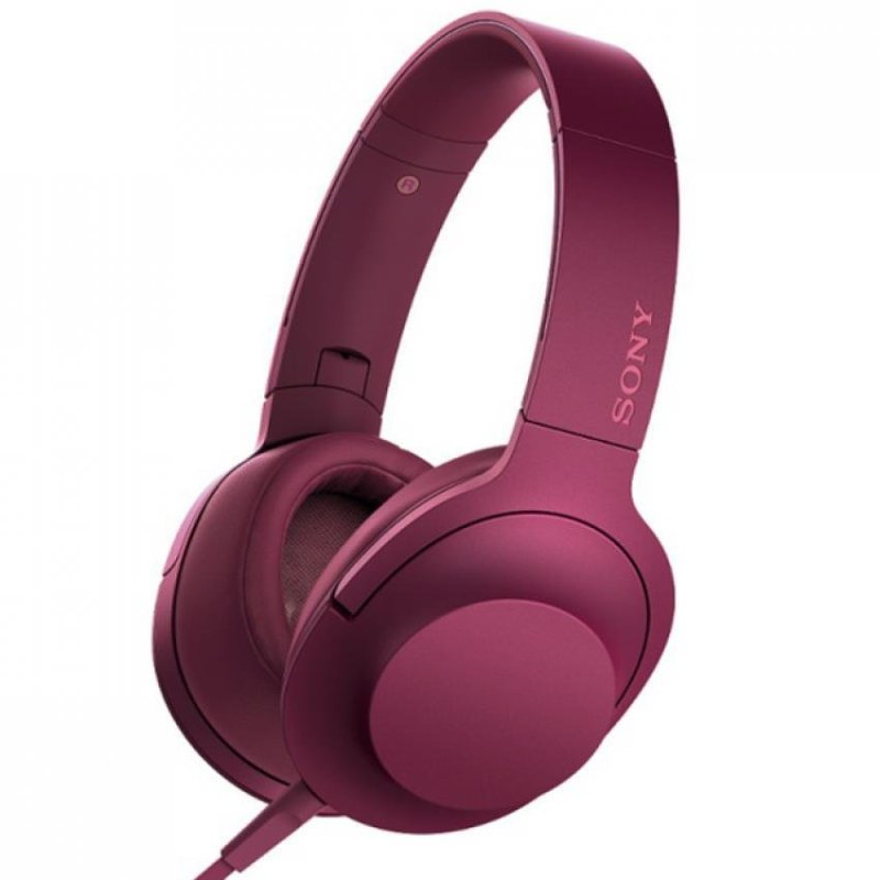 SONY MDR-100AAP On-ear Headphone (Pink) Singapore