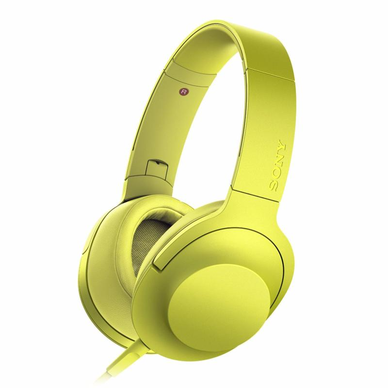 Sony MDR-100AAP On-ear Headphone - Yellow Singapore