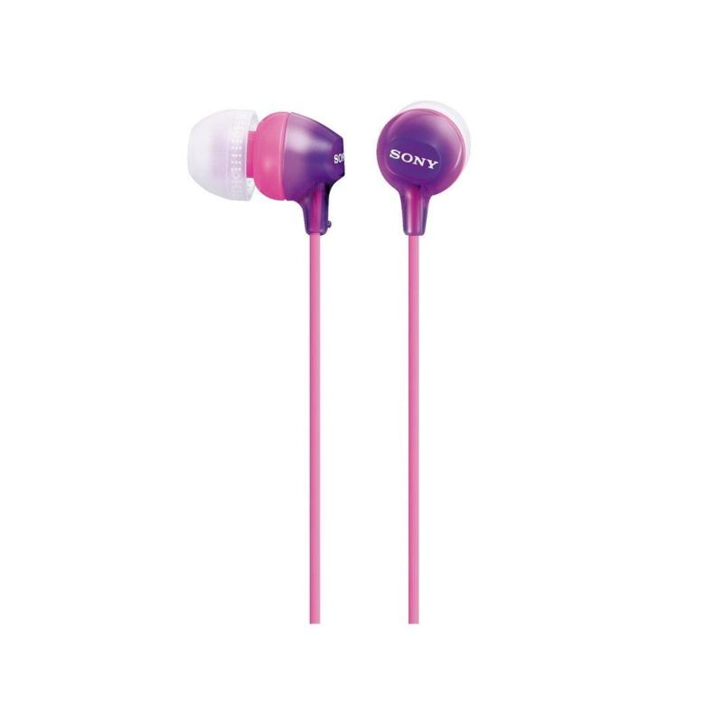 Sony MDR EX15LP - EX Series - headphones - in-ear - (violet) FOR I PHONE /I POD/ SMART PHONE Singapore