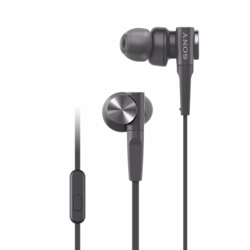Sony MDR-XB55AP Extra Bass In-earphones - Black Singapore