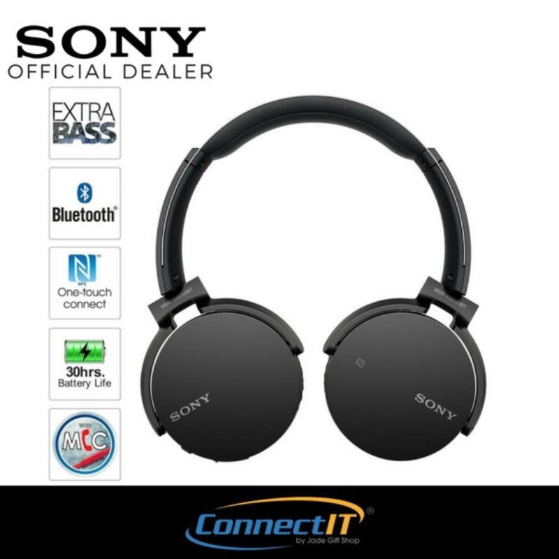 Sony MDR-XB650BT Over The Ear Wireless Bluetooth Headphone (Black) Singapore