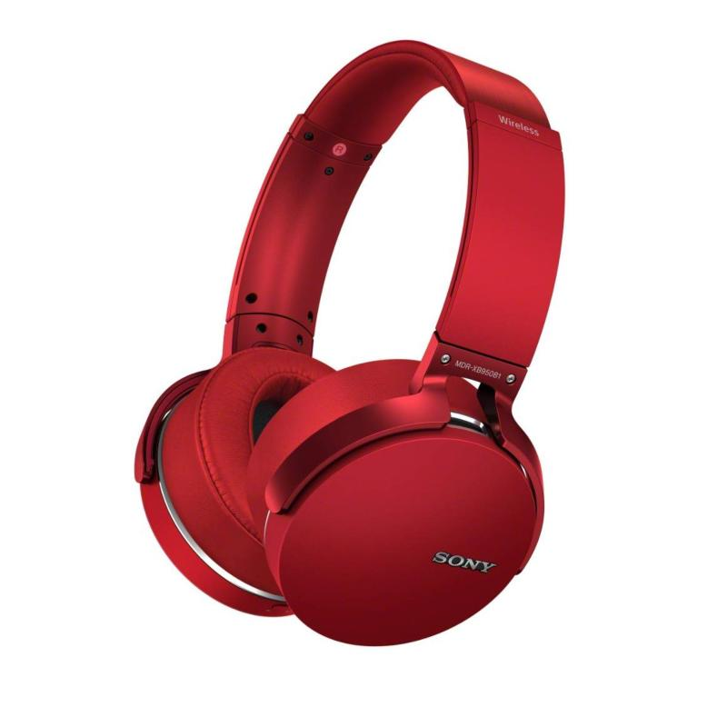 Sony MDR-XB950B1 On-Ear Headphones Bluetooth NFC - Red Singapore