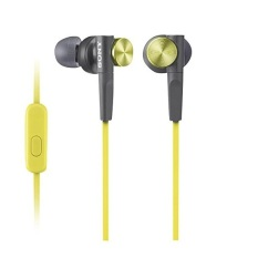 Sale Sony Mdrxb50Ap Yqe In Ear Headphones With Microphone Yellow Online Singapore