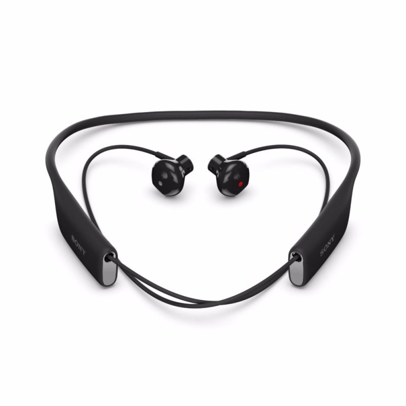Sony SBH70 Water Resistant Sports Bluetooth Headset with NFC - [Black] - intl Singapore