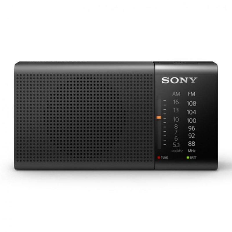Sony Singapore ICF-P36 Horizontal Portable Radio with 57mm speaker unit (Black) Singapore