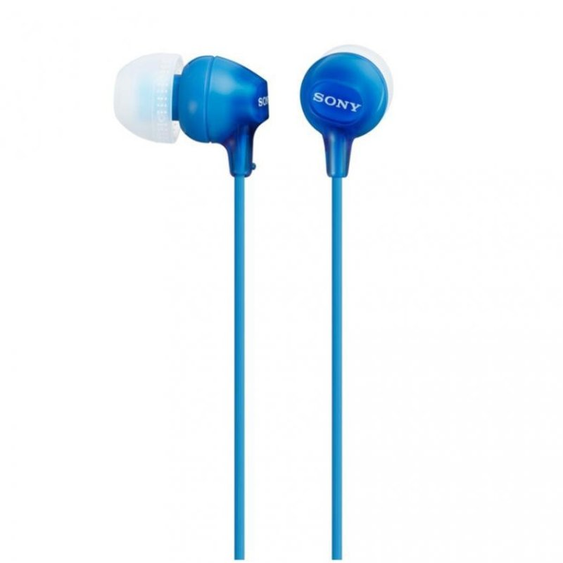 Sony Singapore MDR-EX15LP In-Ear Headphone (Blue) Singapore