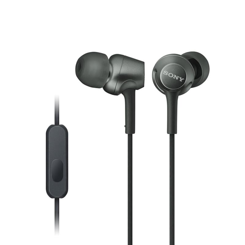 Sony Singapore MDR-EX255AP In-Ear Headphones (Black) Singapore