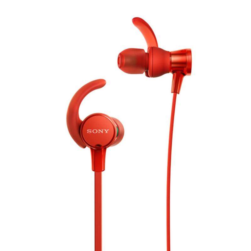 Sony Singapore MDR-XB510AS EXTRA BASS™ Sports Headphone (Red) Singapore
