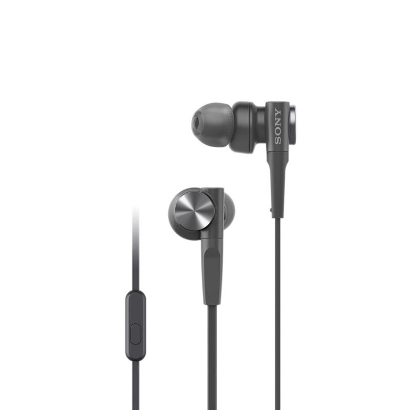 Sony Singapore MDR-XB55AP EXTRA BASS In-Ear Headphones (Black) Singapore