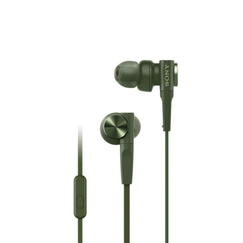Sony Singapore MDR-XB55AP EXTRA BASS In-Ear Headphones (Green) Singapore