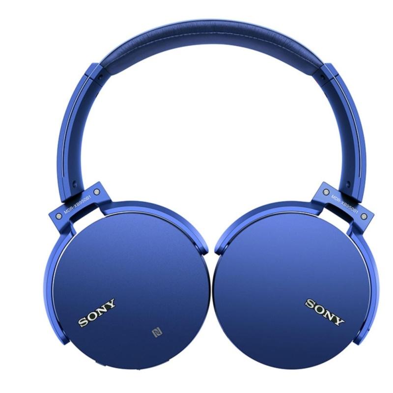 Sony Singapore MDR-XB950B1 Wireless Extra Bass Headphone (Blue) Singapore