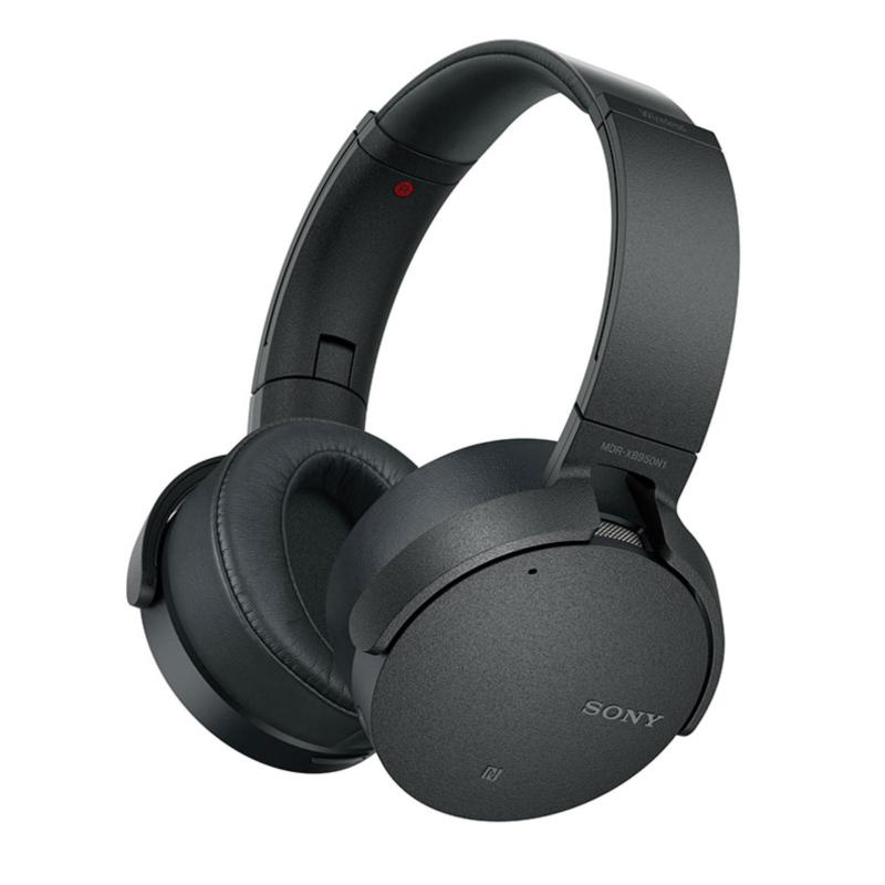 Sony Singapore MDR-XB950N1 Wireless EXTRA BASS™ Noise Cancelling Headphone (Black) Singapore