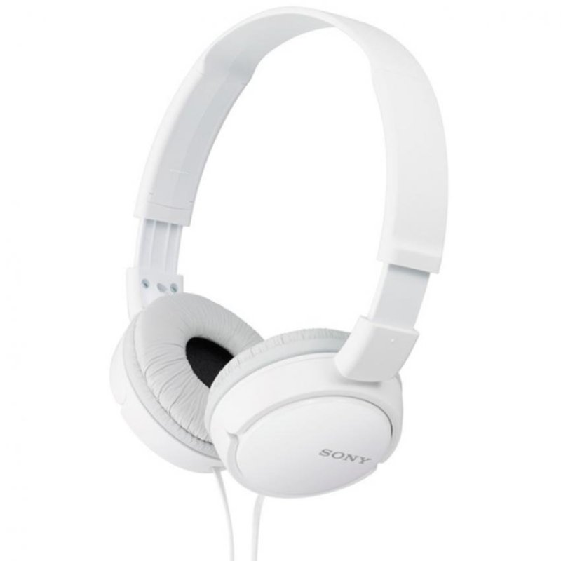 Sony Singapore MDR-ZX110 On-ear Headphone (White) Singapore