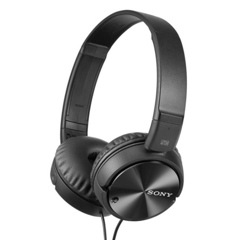 Sony Singapore MDR-ZX110NC On-ear Headphone (Black) Singapore