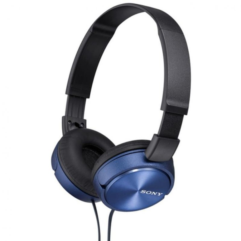 Sony Singapore MDR-ZX310 On-ear Headphone (Blue) Singapore