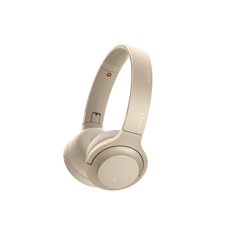 Sony Singapore WH-H800 On-Ear Wireless Headphones (Gold) Singapore