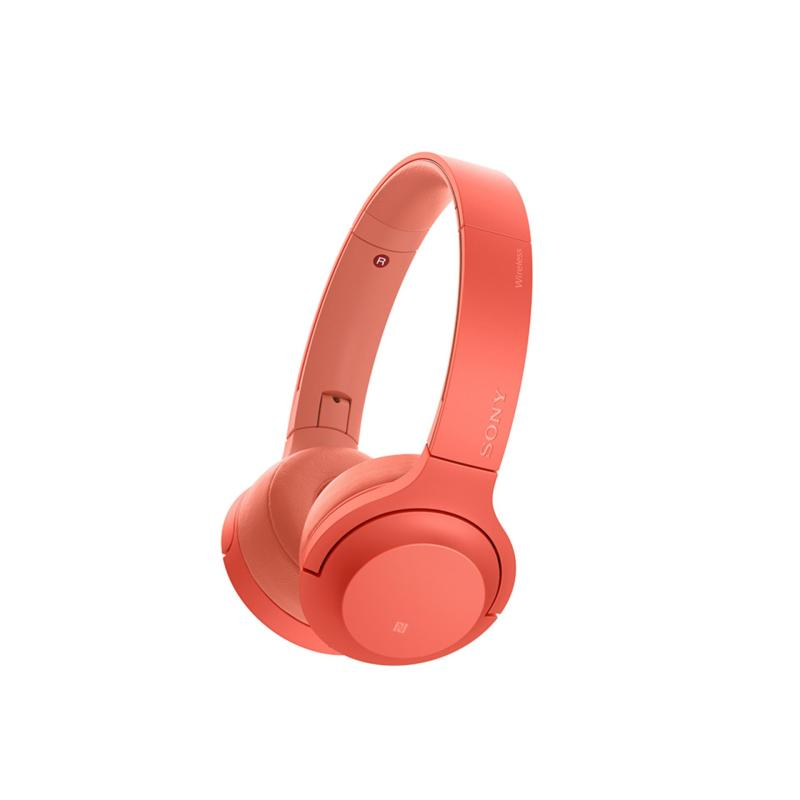 Sony Singapore WH-H800 On-Ear Wireless Headphones (Red) Singapore